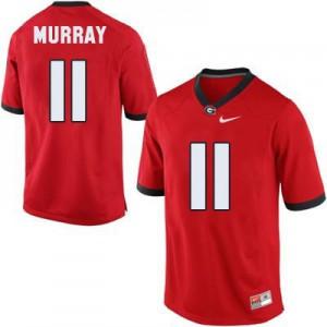 Aaron Murray Georgia Bulldogs #11 - Red Football Jersey
