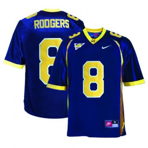 Aaron Rodgers Cal Bears #8 Youth - Blue Football Jersey