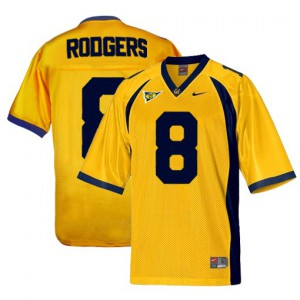 Aaron Rodgers Cal Bears #8 Youth - Gold Football Jersey