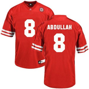 Ameer Abdullah Nebraska Cornhuskers #8 - Red Football Jersey