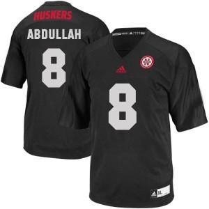 Ameer Abdullah Nebraska Cornhuskers #8 Youth - Black Football Jersey