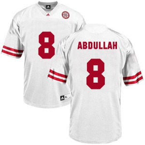 Ameer Abdullah Nebraska Cornhuskers #8 Youth - White Football Jersey