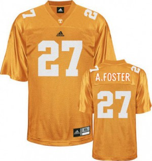 Arian Foster Tennessee Volunteers #27 - Orange Football Jersey
