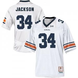 Bo Jackson Auburn Tigers #34 Youth - White Football Jersey