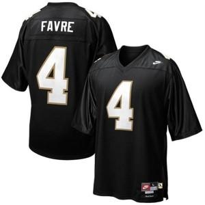 Brett Favre Southern Mississippi Golden Eagles #4 - Black Football Jersey