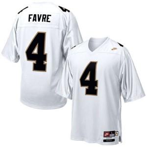 Brett Favre Southern Mississippi Golden Eagles #4 - White Football Jersey