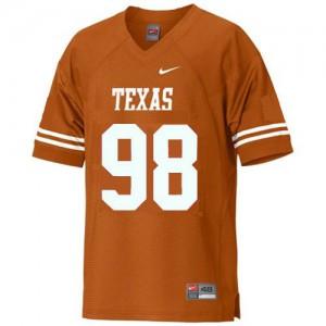 Brian Orakpo Texas Longhorns #98 - Orange Football Jersey