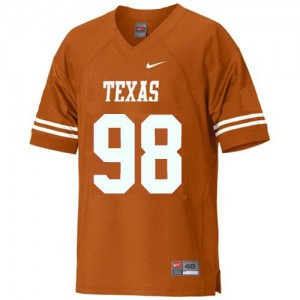 Brian Orakpo Texas Longhorns #98 Youth - Orange Football Jersey