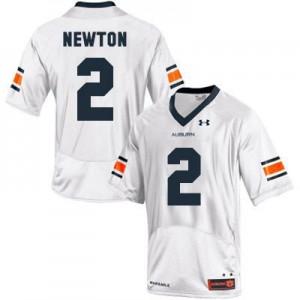 Cam Newton Auburn Tigers #2 - White Football Jersey