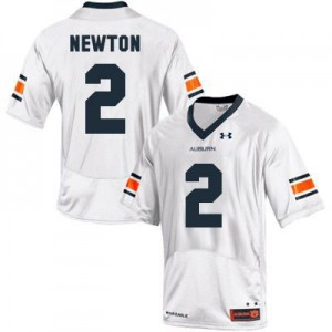 Cam Newton Auburn Tigers #2 Youth - White Football Jersey