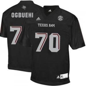 Cedric Ogbuehi Texas A&M Aggies #70 Youth - Black Football Jersey