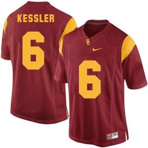 Cody Kessler USC Trojans #6 - Red Football Jersey