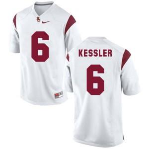 Cody Kessler USC Trojans #6 - White Football Jersey