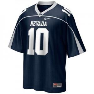 Colin Kaepernick Nevada Wolf Pack #10 - Blue Football Jersey