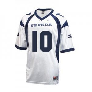 Colin Kaepernick Nevada Wolf Pack #10 - White Football Jersey