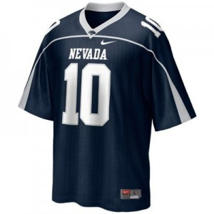 Colin Kaepernick Nevada Wolf Pack #10 Youth - Blue Football Jersey