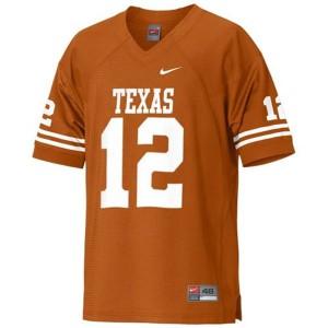 Colt McCoy Texas Longhorns #12 Youth - Orange Football Jersey