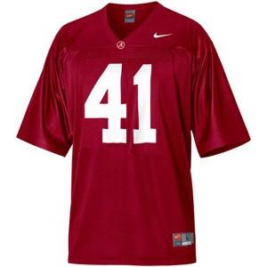 Courtney Upshaw University of Alabama Crimson Tide #41 Youth - Crimson Red Football Jersey