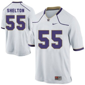 Danny Shelton Washington Huskies #55 - White Football Jersey