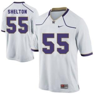 Danny Shelton Washington Huskies #55 Youth - White Football Jersey