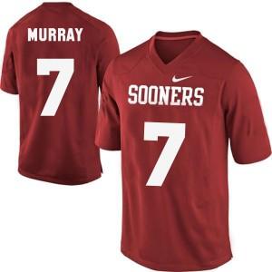 DeMarco Murray Oklahoma Sooners #7 - Crimson Red Football Jersey