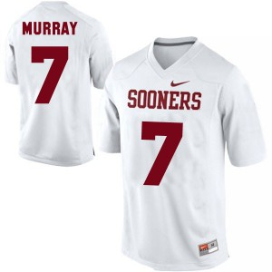 DeMarco Murray Oklahoma Sooners #7 Youth - White Football Jersey