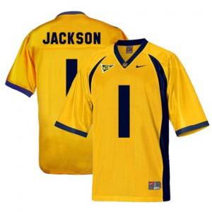 DeSean Jackson Cal Bears #1 - Gold Football Jersey