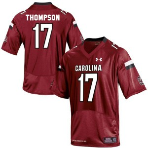 Dylan Thompson South Carolina Gamecocks #17 - Red Football Jersey
