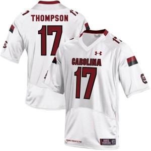 Dylan Thompson South Carolina Gamecocks #17 - White Football Jersey