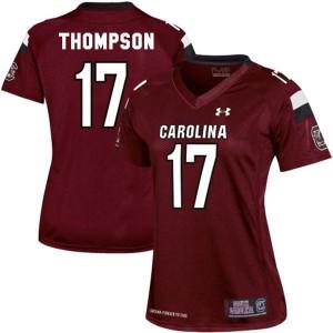 Dylan Thompson South Carolina Gamecocks #17 Women - Red Football Jersey
