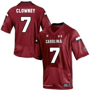 Jadeveon Clowney South Carolina Gamecocks #7 Youth - Red Football Jersey
