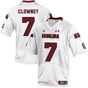 Jadeveon Clowney South Carolina Gamecocks #7 Youth - White Football Jersey