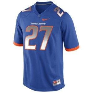 Jay Ajayi Boise State Broncos #27 Youth - Blue Football Jersey