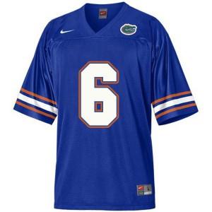 Jeff Driskel Florida Gators #6 Youth - Blue Football Jersey
