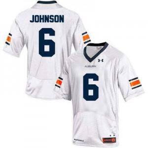 Jeremy Johnson Auburn Tigers #6 College - White Football Jersey
