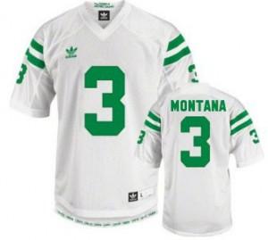 Joe Montana Notre Dame Fighting Irish #3 Youth - White Football Jersey