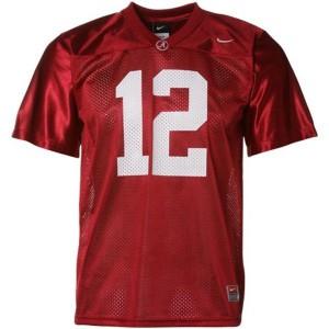 Joe Namath Alabama Crimson Tide #12 Mesh Youth - Crimson Red Football Jersey