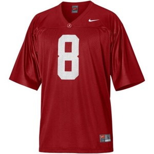 Julio Jones Alabama Crimson Tide #8 - Crimson Red Football Jersey