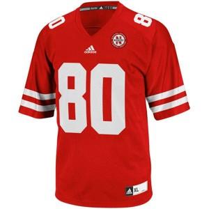 Kenny Bell Nebraska Cornhuskers #80 - Red Football Jersey
