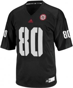 Kenny Bell Nebraska Cornhuskers #80 Youth - Black Football Jersey