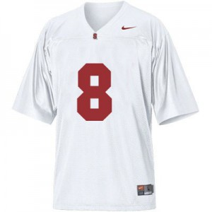 Kevin Hogan Stanford Cardinal #8 - White Football Jersey