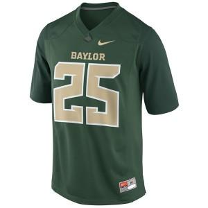 Lache Seastrunk Baylor Bears #25 Youth - Green Football Jersey