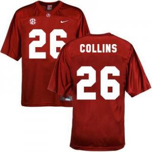 Landon Collins Alabama Crimson Tide #26 Youth - Crimson Red Football Jersey
