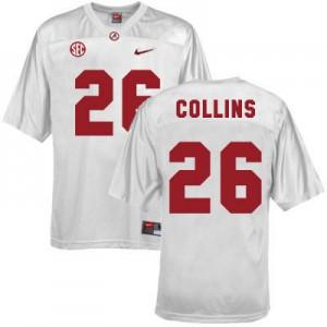 Landon Collins Alabama Crimson Tide #26 Youth - White Football Jersey