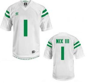 Louis Nix III Notre Dame Fighting Irish #1 - White Football Jersey