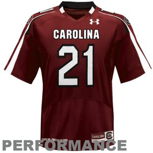 Marcus Lattimore South Carolina Gamecocks #21 - Red Football Jersey