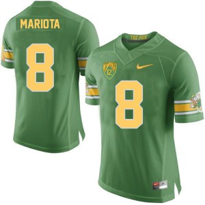 Marcus Mariota Oregon Ducks 20th Anniversary The Pick - Green Football Jersey
