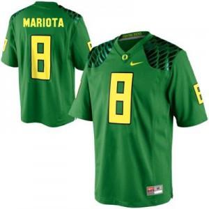 Marcus Mariota Oregon Ducks #8 - Apple Green Football Jersey