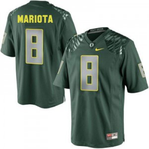 Marcus Mariota Oregon Ducks #8 - Green Football Jersey