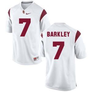 Matt Barkley USC Trojans #7 - White Football Jersey